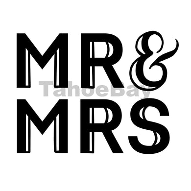 Mr and Mrs Can Cooler Graphic Design Files | SVG PSD PNG
