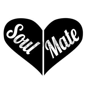 Soul Mate Can Cooler Graphic Design Files | SVG PSD PNG