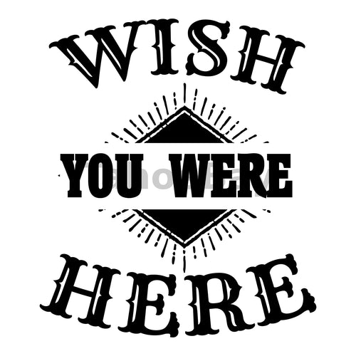 Wish You Were Here Can Cooler Graphic Design Files | SVG PNG