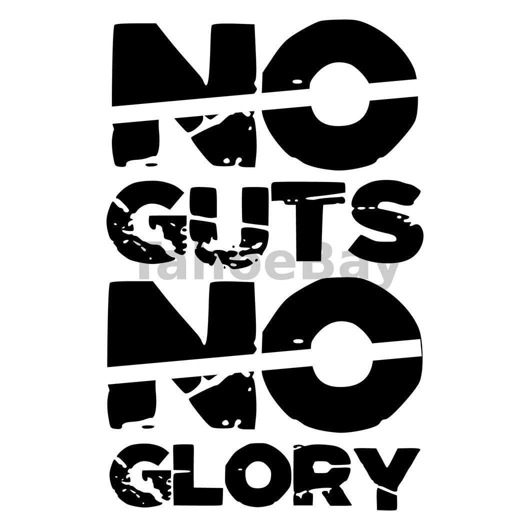 No Guts No Glory Can Cooler Graphic Design Files | SVG PNG