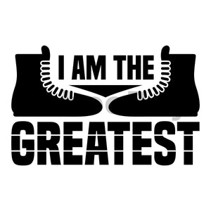 I Am The Greatest Can Cooler Graphic Design Files | SVG PNG