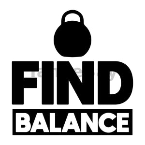 Find Balance Can Cooler Graphic Design Files | SVG PNG