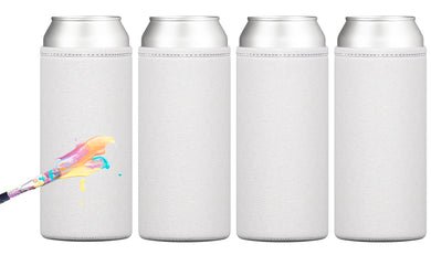 Can-Canvas Slim Paintable Can Cooler