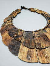 Load image into Gallery viewer, Haitian Statement Necklace (horn)
