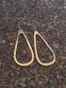 Konga Brass Earrings
