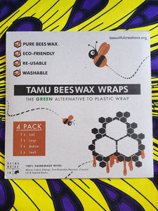 Rwandan Beeswax Food Wraps