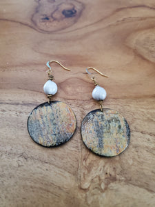 Majok Round Earrings