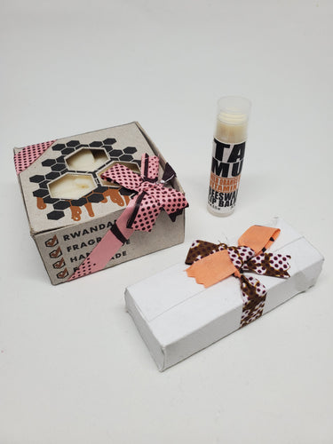 Wild Orange & Cocoa Besswax Set