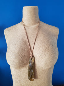 Horn Pendant Necklace