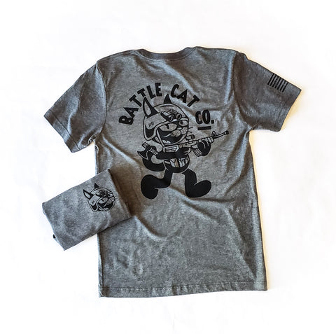 Classic Tactical Battle Cat - Heather Grey