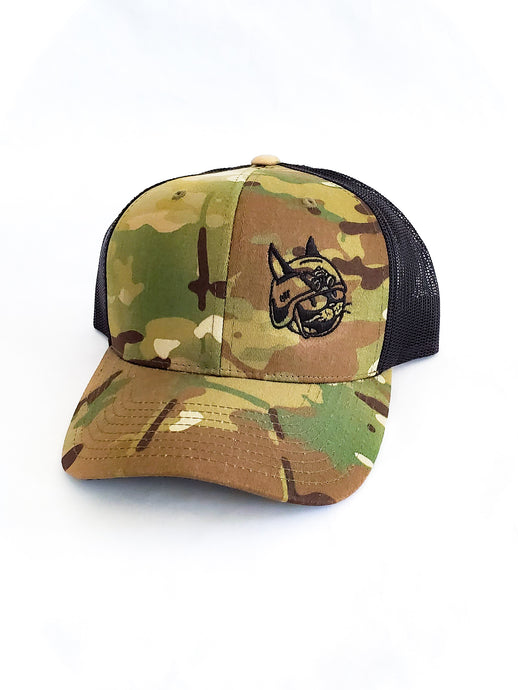 Classic Battle Cat Hat - Multicam