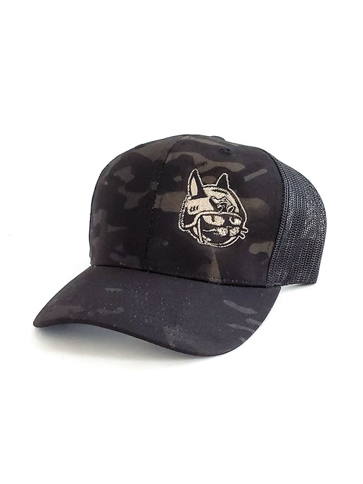 Classic Battle Cat Hat - Multicam Black