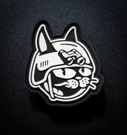Glowing Battle Cat Anniversary Patch