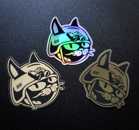 Los Tres Gatos De Guerra - Sticker Pack