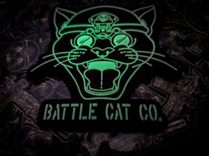 Battle Cat Co. Glow in the Dark Kitty Patch