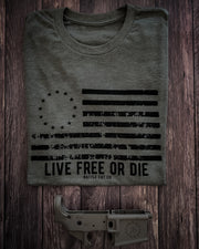 Live Free or Die - OD Green