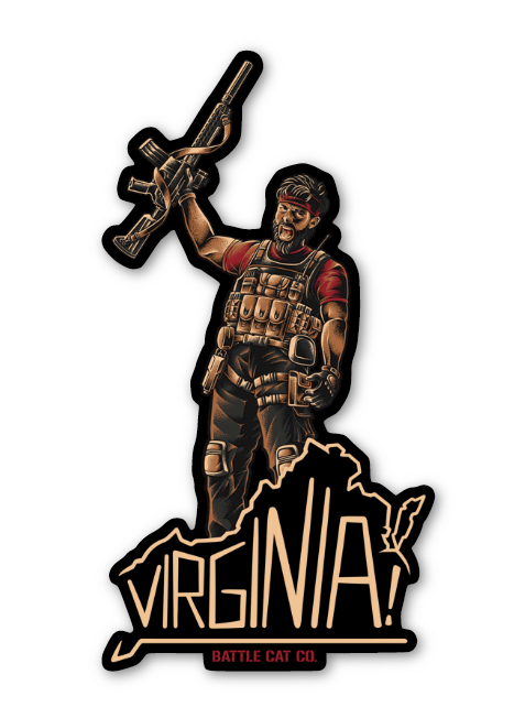 Virginia! - Sticker - Help support the VCDL!