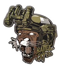 Load image into Gallery viewer, Tactical Battle Cat 2.0 Sticker