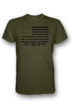 Load image into Gallery viewer, Live Free or Die - OD Green