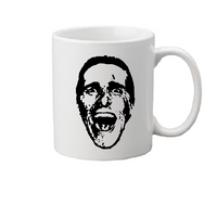 American Psycho Mug Coffee Cup White Patrick Bateman Murders Executions Eighties Serial Killer Slasher Horror Halloween Free Shipping Merch Massacre