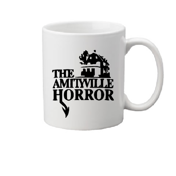 Amityville Horror Mug Coffee Cup White Haunted House Lutz Killer Slasher Horror Halloween Free Shipping Merch Massacre