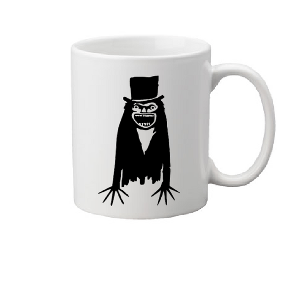 Babadook Mug Coffee Cup White Ghost Spirit Haunted House Killer Slasher Horror Halloween Free Shipping Merch Massacre