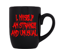 Beetlejuice Mug Coffee Cup Black I Myself Strange Unusual Supernatural Spirit Ghost Horror Free Shipping Merch Massacre