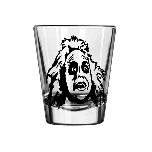 Beetlejuice Shot Glass Horror Beetle Juice Spirit Ghost Paranormal Free Shipping Merch Massacre