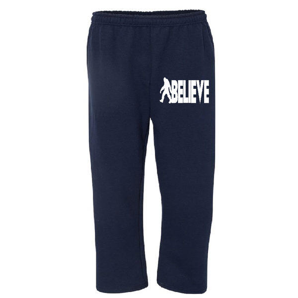 Paranormal Sweatpants Pants S-5X Adult Clothes Bigfoot Believe Sasquatch Cryptid Crytpto Monster Supernatural Sci Fi Free Shipping Merch Massacre