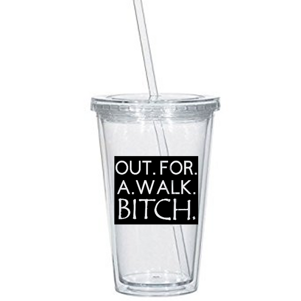 Buffy the Vampire Slayer Tumbler Cup Spike Out For A Walk Horror Free Shipping Merch Massacre