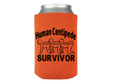 Human Centipede Can Cooler Sleeve Bottle Holder Extreme Horror Free Shipping Merch Massacre