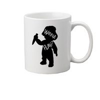 Child's Play Mug Coffee Cup White Chucky Childs Killer Doll Slasher Tiffany Wanna Play Curse Bride Cult Horror Halloween Free Shipping Merch Massacre