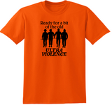 Clockwork Orange T Shirt Adult Clothes S-5X Ultra Violence Droogs Alex British  Serial Killer Horror Halloween Unisex Free Shipping Merch Massacre