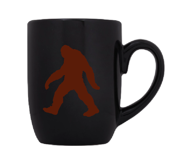 Paranormal Mug Coffee Cup Black Bigfoot Cryptid Supernatural Sasquatch Yeti Big Foot Investigator Believe Brake Sci Fi Free Shipping Merch Massacre