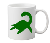 Paranormal Mug Coffee Cup White Loch Ness Monster Nessie Crytpid Cryptozoology Bigfoot UFO Ghost Horror Halloween Free Shipping Merch Massacre