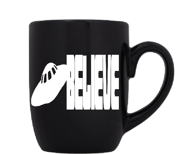 Paranormal UFO Mug Coffee Cup Black Abduction Cryptid Alien Free Shipping Merch Massacre
