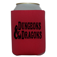 Gamer Dungeon Can Cooler Sleeve Bottle Holder Dragon RPG D20 Gamer Horror Free Shipping Merch Massacre