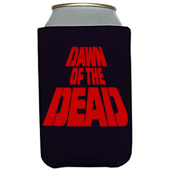 Dawn of the Dead Can Cooler Sleeve Bottle Holder Zombie Horror Free Shipping Merch Massacre