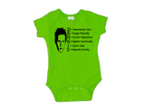 Always Sunny in Philadelphia Baby Infant Youth Bodysuit Romper NB-24 Months Dennis System Free Shipping Merch Massacre