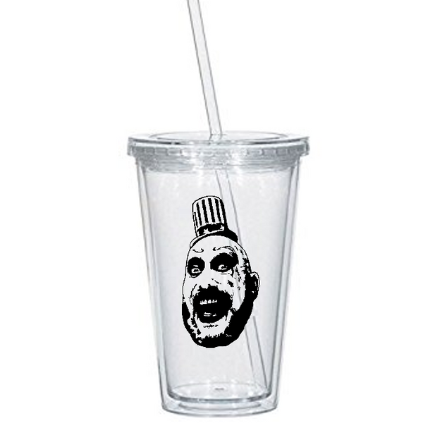 Devil's Rejects Tumbler Cup Captain Spaulding Firefly Otis Baby House of 1000 Corpses 3 From Hell Horror Killer Halloween Free Shipping Merch Massacre