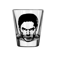 Dexter Shot Glass Dark Passenger Serial Killer Horror Free Shipping Merch Massacre