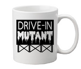 Drive-In Mutant Mug Coffee Cup Black Grindhouse Theater Drive In Sci Fi Joe Bob Horror Free Shipping Merch Massacre