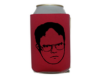 The Office Dwight Schrute Can Cooler Sleeve Bottle Holder Dunder Mifflin Free Shipping Merch Massacre