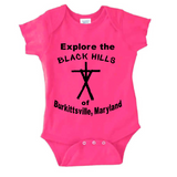 Blair Witch Project Baby Infant Youth Bodysuit Romper NB-24 Months Black Hills Burkittsville Witchcraft Cross Indy Horror Free Shipping Merch Massacre