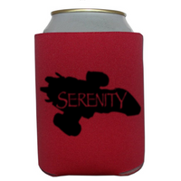 Firefly Can Cooler Sleeve Bottle Holder Serenity Free Shipping Merch Massacre