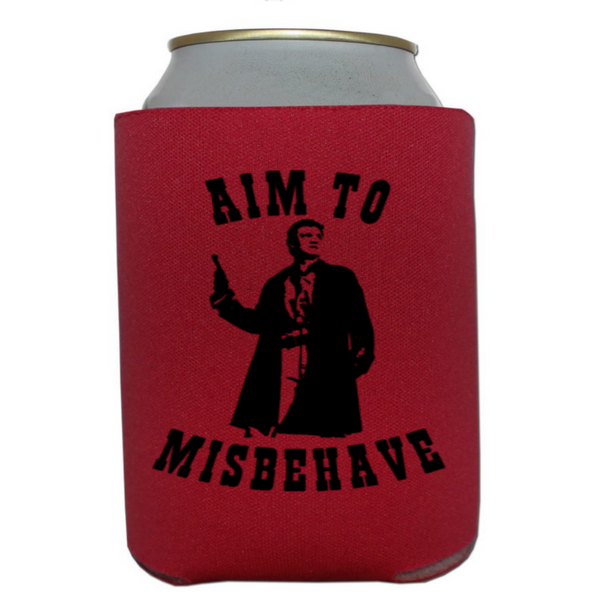Firefly Can Cooler Sleeve Bottle Holder Aim Misbehave Serenity Free Shipping Merch Massacre