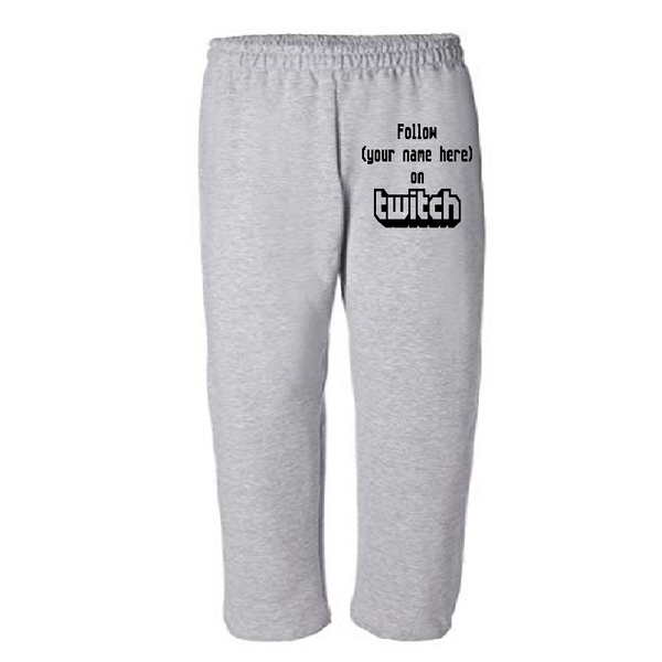 Gamer Sweatpants Pants S-5X Adult Clothes Twitch Custom Follow Streamer Steaming Personalized Video Game Online Gaming Free Shipping Merch Massacre