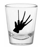 Nightmare on Elm Street Shot Glass Glove Freddy Krueger Killer Slasher Supernatural Horror Funny Nerd Geek Halloween Free Shipping Merch Massacre