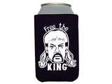 Tiger King Can Cooler Joe Exotic Free the King Can Sleeve Bottle Holder Free Shipping Merch Massacre