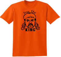 Tiger King T Shirt Free the King Joe Exotic Unisex Adult Clothes S-5X Funny LOL Comedy Documentary Nerd Geek Halloween Free Shipping Merch Massacre